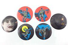 Vintage 1980s Batman DC Comics Great Stuff Novelties Buttons Q584