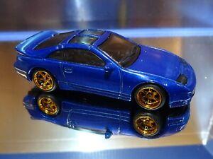 2021 Hot Wheels REAL RIDERS CUSTOM NISSAN 300ZX TWIN TURBO in BLUE. HW TURBO 1/5