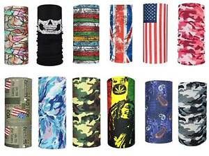 Face Cover, Scarf Bandanas, Neck Gaiter  ***NEW***