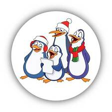 24-Pack 40mm Cute Pinguins Decor Xmas Stickers Decals ideal decorating cards