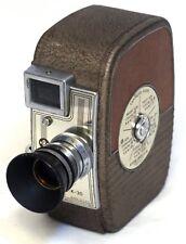 KEYSTONE Capri K-30 Vintage 8mm Film Movie Camera ELGEET f/1.9 12mm lens USA