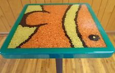 "24"" x 24""  Resin Coated  Aquarium Gravel Pub Table Top"