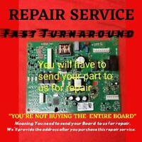 REPAIR SERVICE Whirlpool  W10310240 12920724 12920721 Refrigerator Control Board