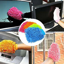 Car Vehicle Microfiber Soft Hand Towel Chenille Washing Cleaning Glove