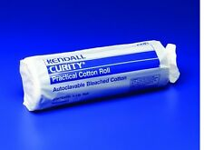 "Kendall Curity Cotton Roll, 12.5""X 56"", Practical Bleached Cotton, Covidien 2287"