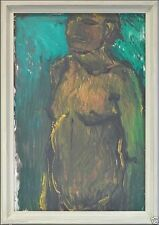 1950-1999 Expressionismus-Original-der-Zeit Akt & Erotik Gemälde (1950-1999) aus Leinwand