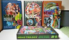 League of Extraordinary Gentlemen: Nemo Trilogy Hardcovers w/ Slipcase VG+ Moore