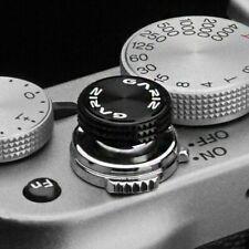 Gariz Soft Release Shutter Button Auslöser Auslöseknopf für Kamera | Schwarz