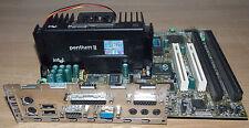 MSI ms6126 ATX placa 266 MHz Pentium 2 128 MB motherboard isa AGP rs232 ATI