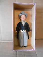 vintage virga hard plastic groom doll