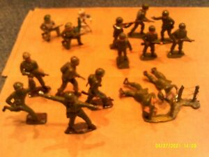 Vintage Post War Britains Johillco British United States Toy Soldiers lot