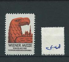 wbc. - CINDERELLA/POSTER - CF48 - EUROPE - WIENER   MESSE - 1939