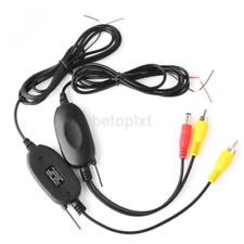 Wireless Video Transmitter Receiver Kit For Car Monitor Backup Camera FR