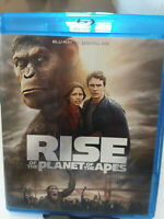 Rise of the Planet of the Apes (Blu-ray Disc, 2011) Digital Copy