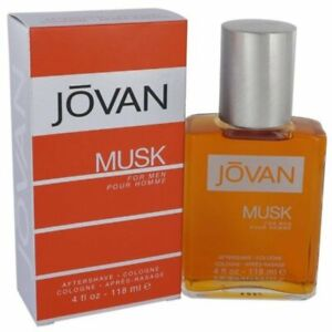 Jovan Musk Aftershave by Jovan cologne for men 4.0 / 4 oz New in Box