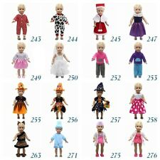 """Fits 18"""" inch Doll Girls Doll Handmade fashion Doll Clothes dress Outfit"""
