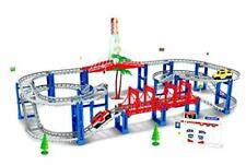 Electric Rc Slot Car Racing Track Sets Dual Speed Mode Race Track For Boys And G