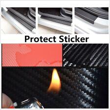 Car Accessories Door Sill Carbon Fiber Protect Sticker Fire Prevention Anti-kick