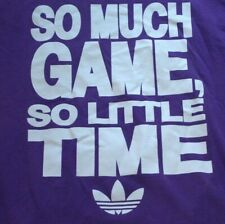 Adidas So much game so little time T-Shirt Size Medium