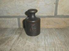 altes  Eisengewicht Gusseisen  1 kg.  Nr.239