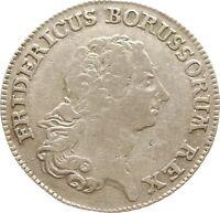 Kgr. Preußen, Friedrich II., 1/3 Taler 1771 B, Breslau
