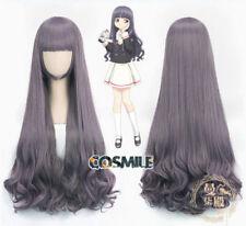 Card Captor Sakura CLEAR CARD Tomoyo Daidouji Cosplay Curly Hair Wig Anime