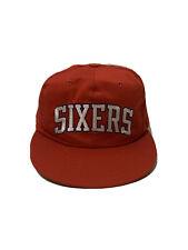 Vintage Starter Snapback Red Hat Philadelphia 76ers SIXERS Hat 90s NBA