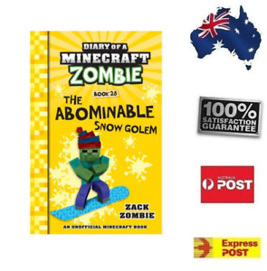 Diary of a Minecraft Zombie: The Abominable Snow Golem - Book 28