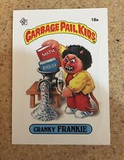 Garbage Pail Kids Original Cranky Frankie 1985 Topps Mint
