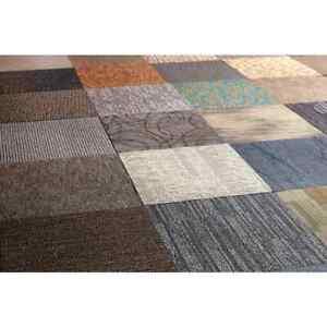 Carpet Tile 24 in. x 24 in. Stain Resistant Tufted Nylon/Polypropylene (10/Case)