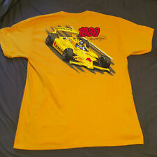 Johnny Rutherford Indy Indianapolis 500 T-shirt 1980 Winning Car Men's Large