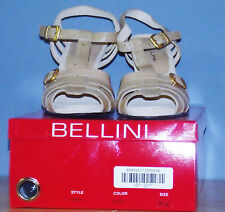 BELLINI WOMEN STRAPPY HEELS PUMPS 9.5 M NIB