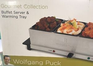Wolfgang Puck  Buffet Server & Warming Tray  GOURMET COLLECTION