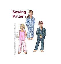 Kwik Sew K3126 Pattern Toddlers Sleepwear T1-T4 BN