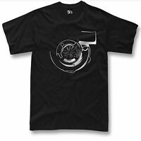 Turbo T Shirt Boost JDM Tuning Drift car NEW Silver Graphic design ( S - 5XL )