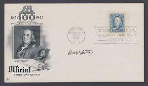 Winton Blount, US Postmaster General 1969-72, signed Artcraft FDC