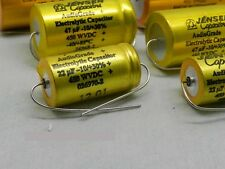 JENSEN 20uF 500V FOR AUDIO ELECTROLYTIC CAPACITOR