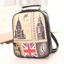 Korean graphic stylecute white smallcasual PU school bag/Computer bag/travel bag