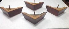 4596 Furniture Legs Triangle Feet Couch Chair Ottoman Sofa 2.5