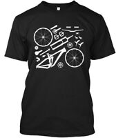 Enduro Mountain Bike Mtb Parts Hanes Tagless Tee T-Shirt