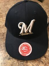 cd1d2c54a22 Milwaukee Brewers Youth Baseball Hat Adjustable Blue