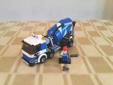 Lego City 7990 Mezcladora De Cemento 100% Completo + instrucciones