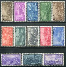1948 Repubblica Risorgimento serie completa 13 valori nuovi integri e spl MNH **