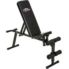 Adjustable Sit Up Abdominal Weight Bench Exercise Equipment Ab Cruch Workout