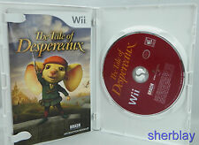 Tale of Despereaux (Nintendo Wii, 2008) Complete Scratches Works