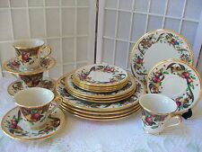 Lenox China Set HOLIDAY TARTAN Dinnerware Retired Pattern New 20pc
