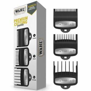 Wahl Premium 3 Pack Clipper Guard Attachment Comb Set - Size: ½ , 1 & 1½