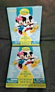 Disney Happy Easter Egg Decorating  Kit Set of Two Packs