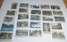 Lot 24 alte Seychellen Postkarten old Seychelles postcards 1903 -1980