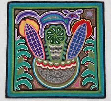 Huichol Yarn Painting 12x12 #10